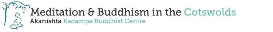 Meditation & Buddhism in the Cotswolds.meditationincheltenham.org.uk Logo